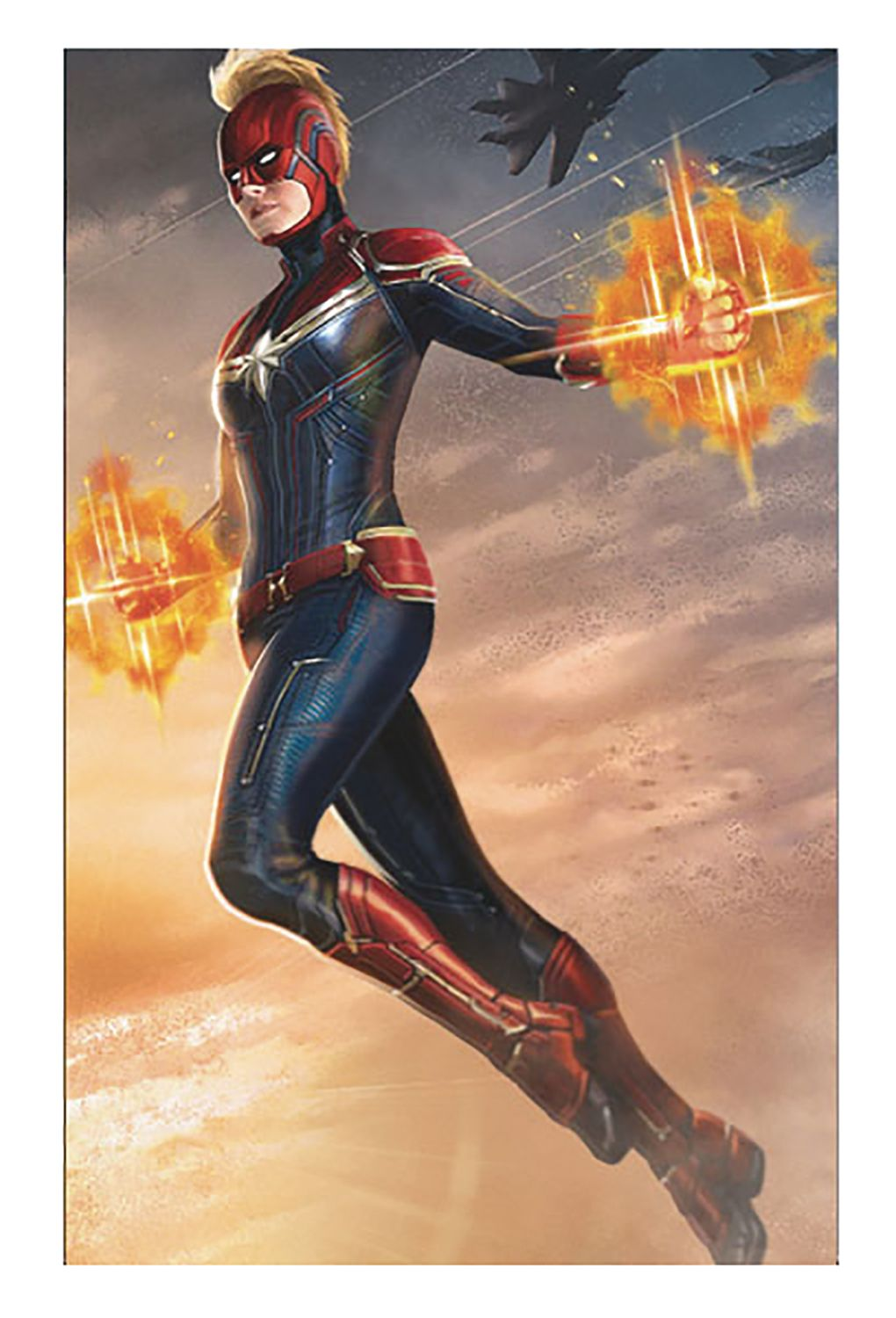New Captain Marvel Art Shows Full Costume Rad And Blue With Helmet Hul Hel Captain Marvel Marvel Superheroes Captain Marvel Carol Danvers Measure shoulder point to wrist through your elbow. pinterest