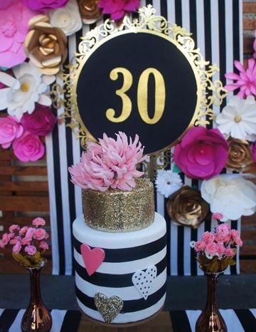 Originales decorados y modelos de tortas de cumplea os - Fiesta cumpleanos adulto ...