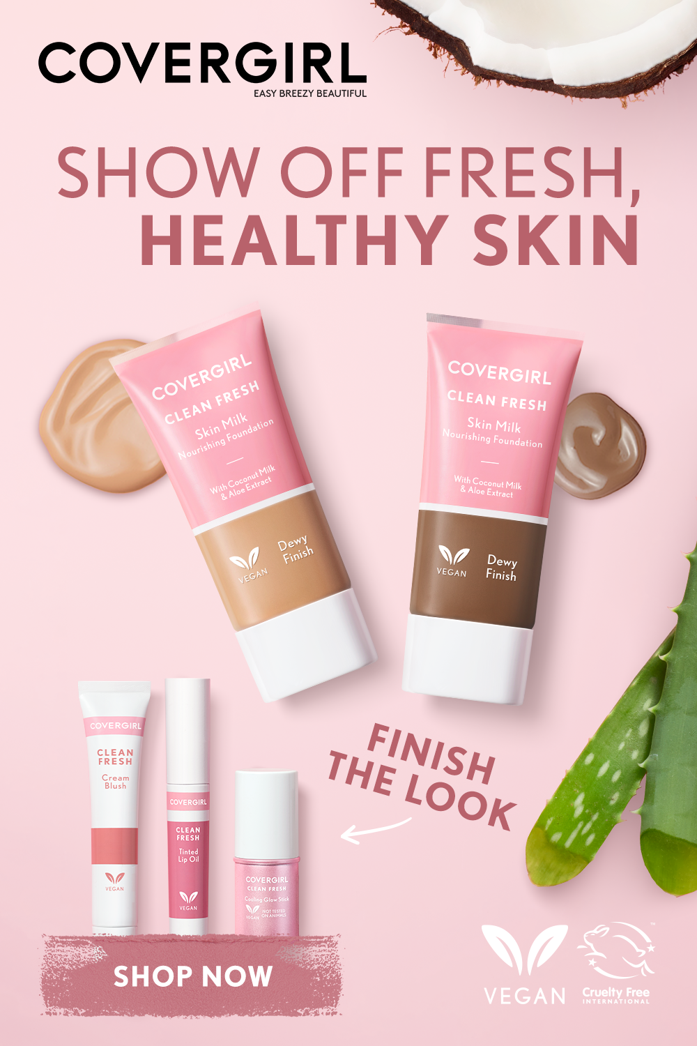 Pin By The Beauty Reviewer On Covergirl In 2020 Covergirl Clean