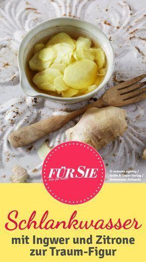 Zitrone und Ingwer kurbeln die Fettverbrennung an und können so auf Dauer die Pfunde purzeln lassen. Hier unsere Tipps! https://de.pinterest.com/fuersie/die-besten-beauty-tipps/