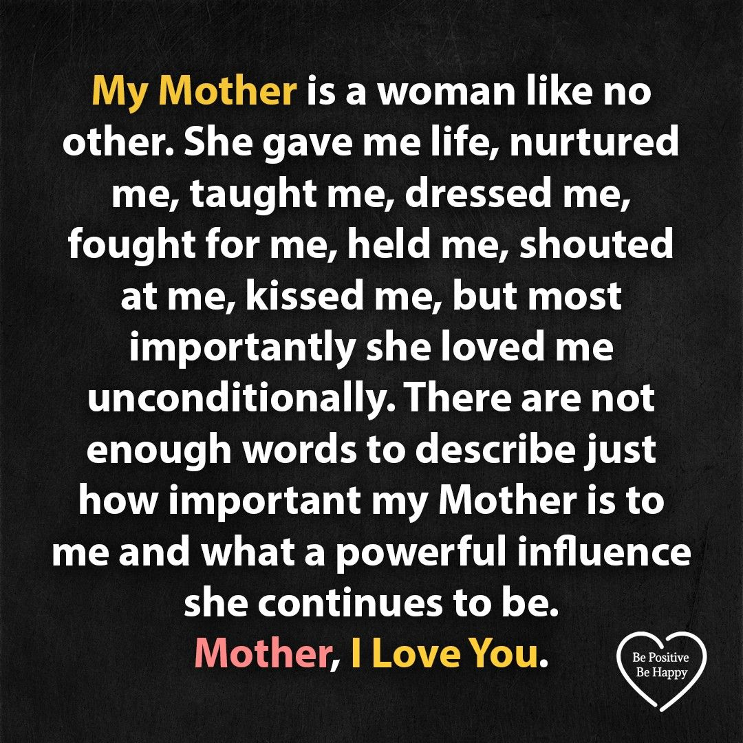 My Mother is a women like no other   Mom in heaven quotes