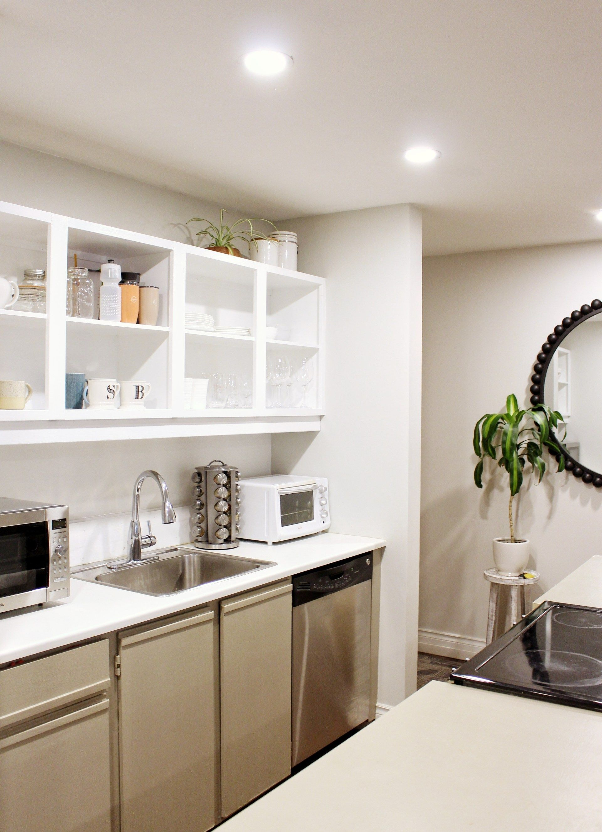 Before And After Kitchen Remodel On A Budget | Trendy home ...