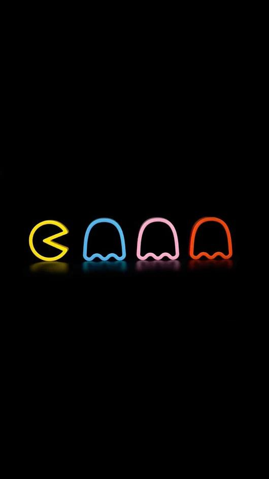 Pacman Neon Wallpaper Neon Signs Neon