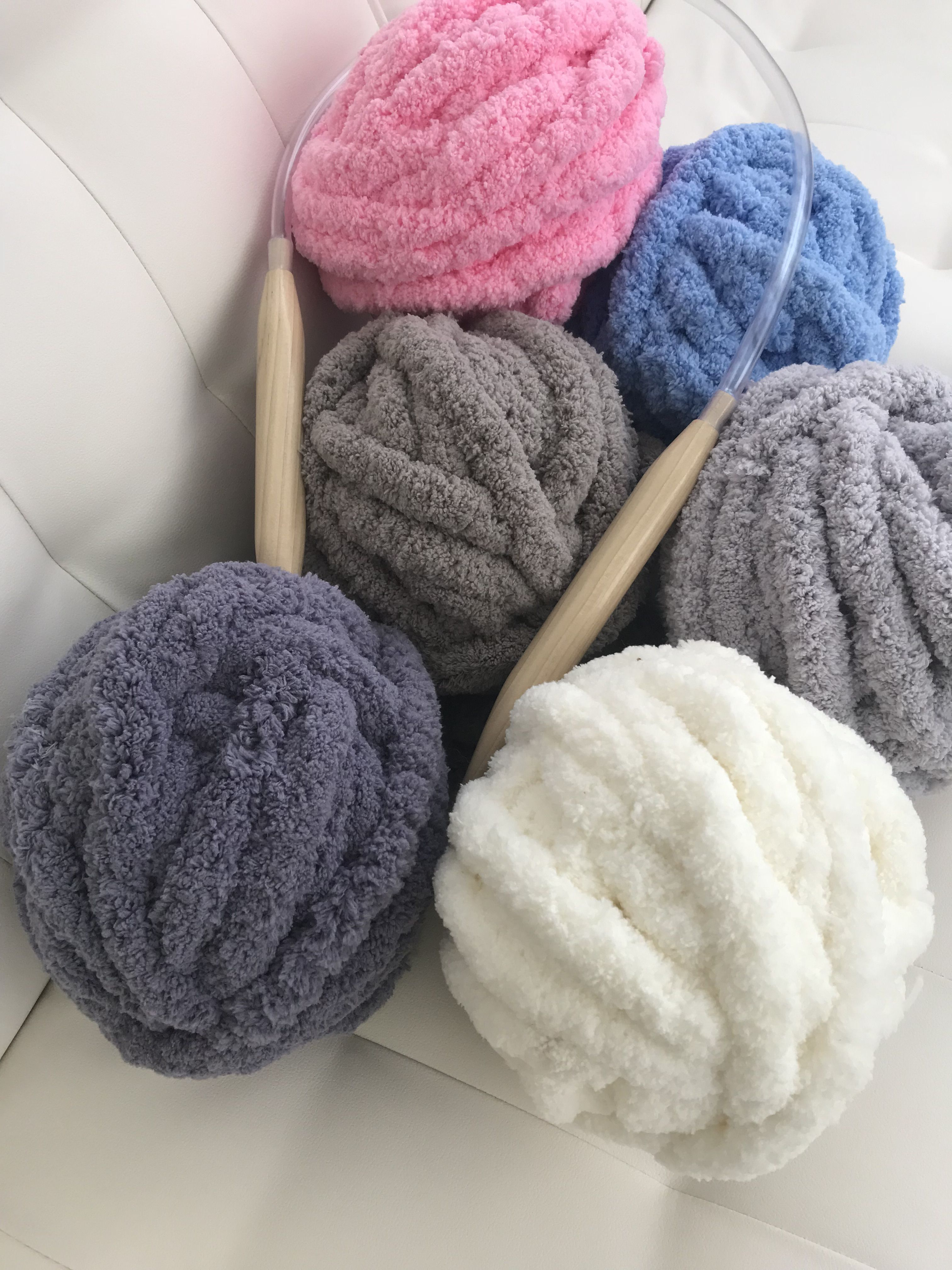 Did you try BeCozi Jumbo chenille yarn yet? It is the softest