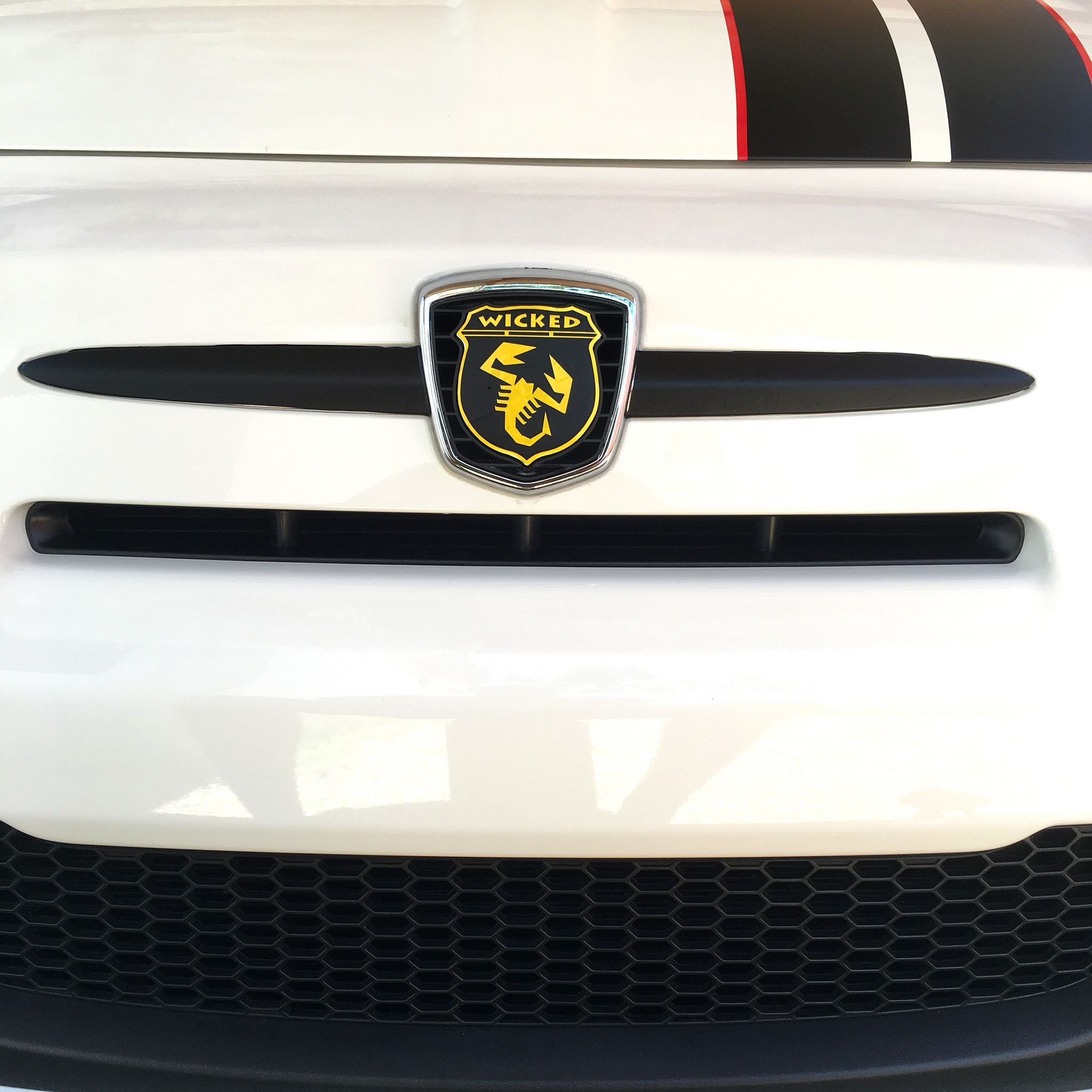 wicked badges | custom vinyl, car logos and fiat