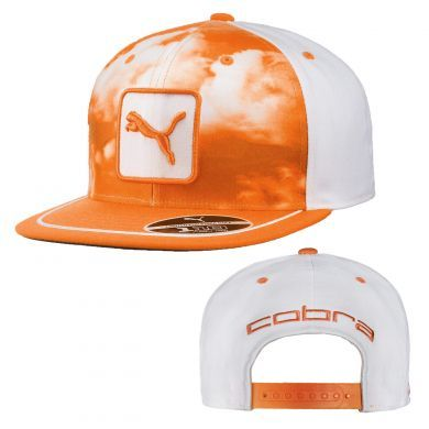 3fa99fdf975 Puma Cobra Digi Sky 110 Stretch Snapback Golf Cap. The Puma Digi Sky Golf  Cap