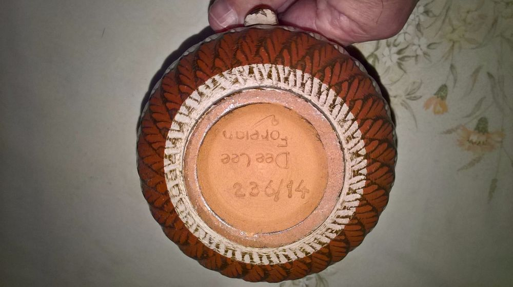german pottery vintage jug impressed 236 14 dee cee my stuff for