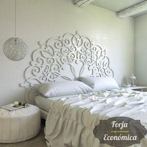 cabecero de forja t nez en 2019 tete de lit lit. Black Bedroom Furniture Sets. Home Design Ideas