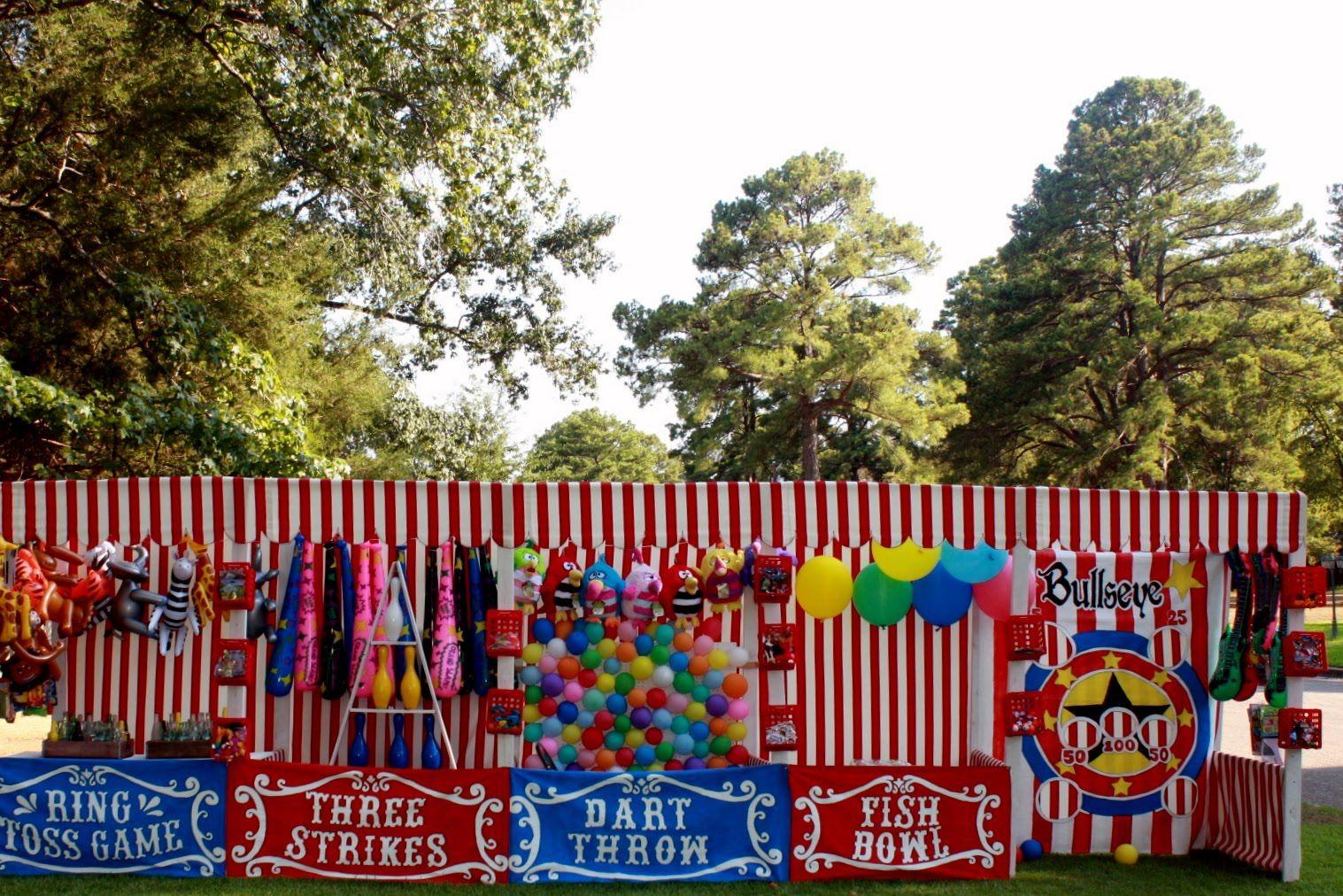 Halloween Carnival Decoration Ideas.Carnival Game Booths For Cokesbury S Everywhere Fun Fair