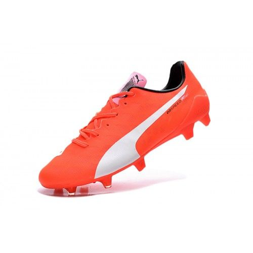 Beste Puma evoSPEED 1.4 SL FG Oransje Fotballsko
