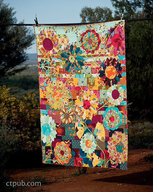 Making Quilts with Kathy Doughty of Material Obsession: 21 ... : making a picture quilt - Adamdwight.com