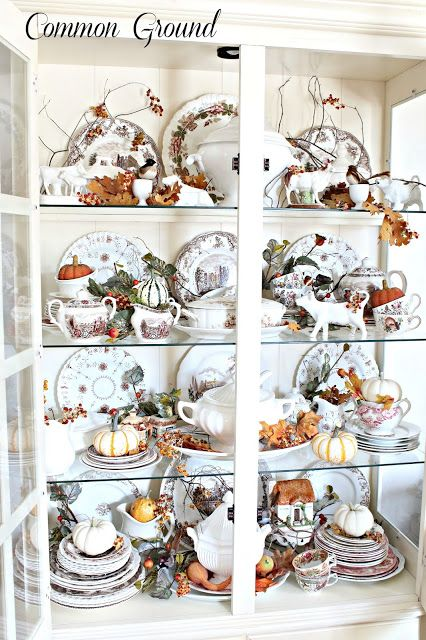 Kitchen China Dishes Best Value Cabinets Cupboard For Fall Hutch Pinterest Common Ground