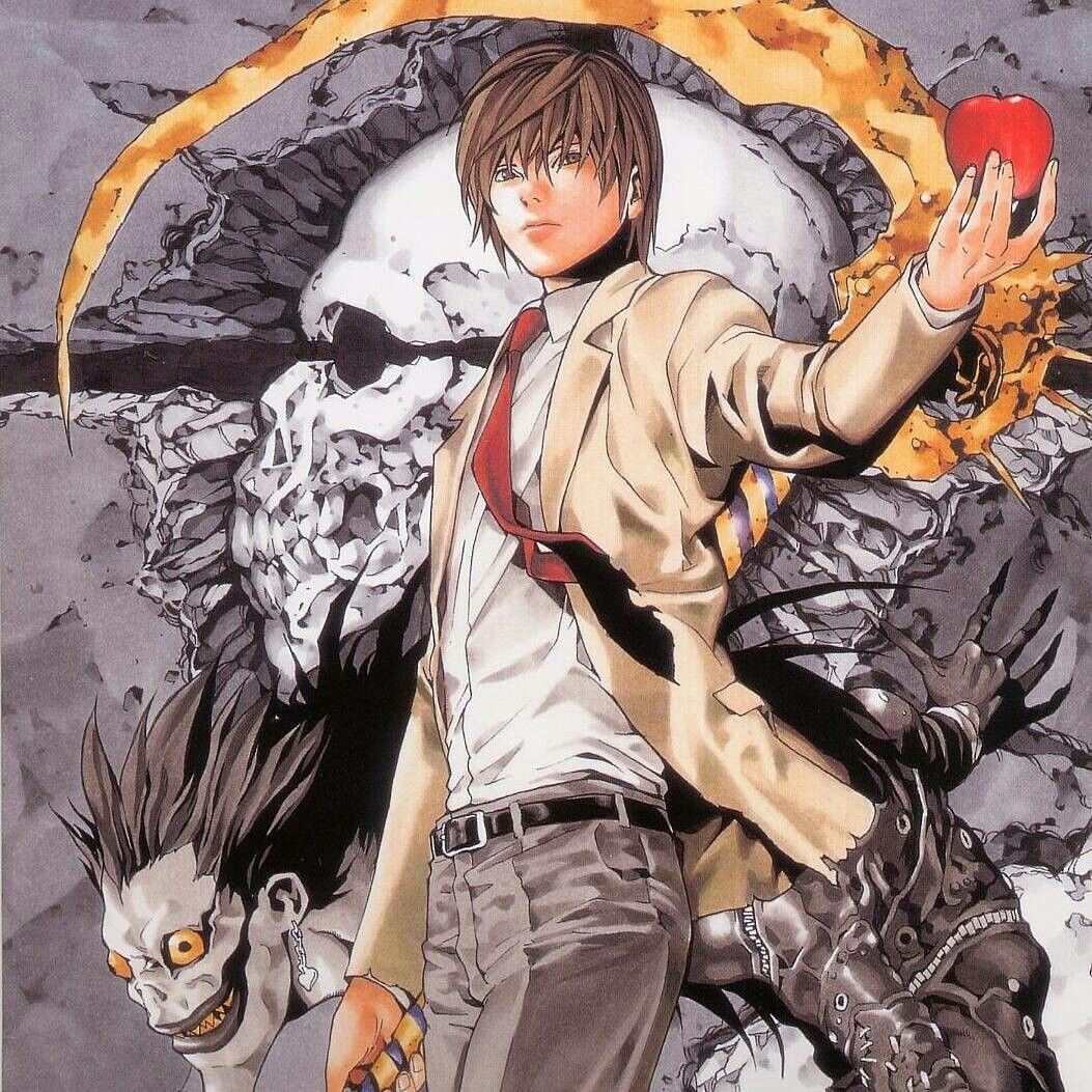 Light Yagami Death Note Fanart Death Note Death Note Manga