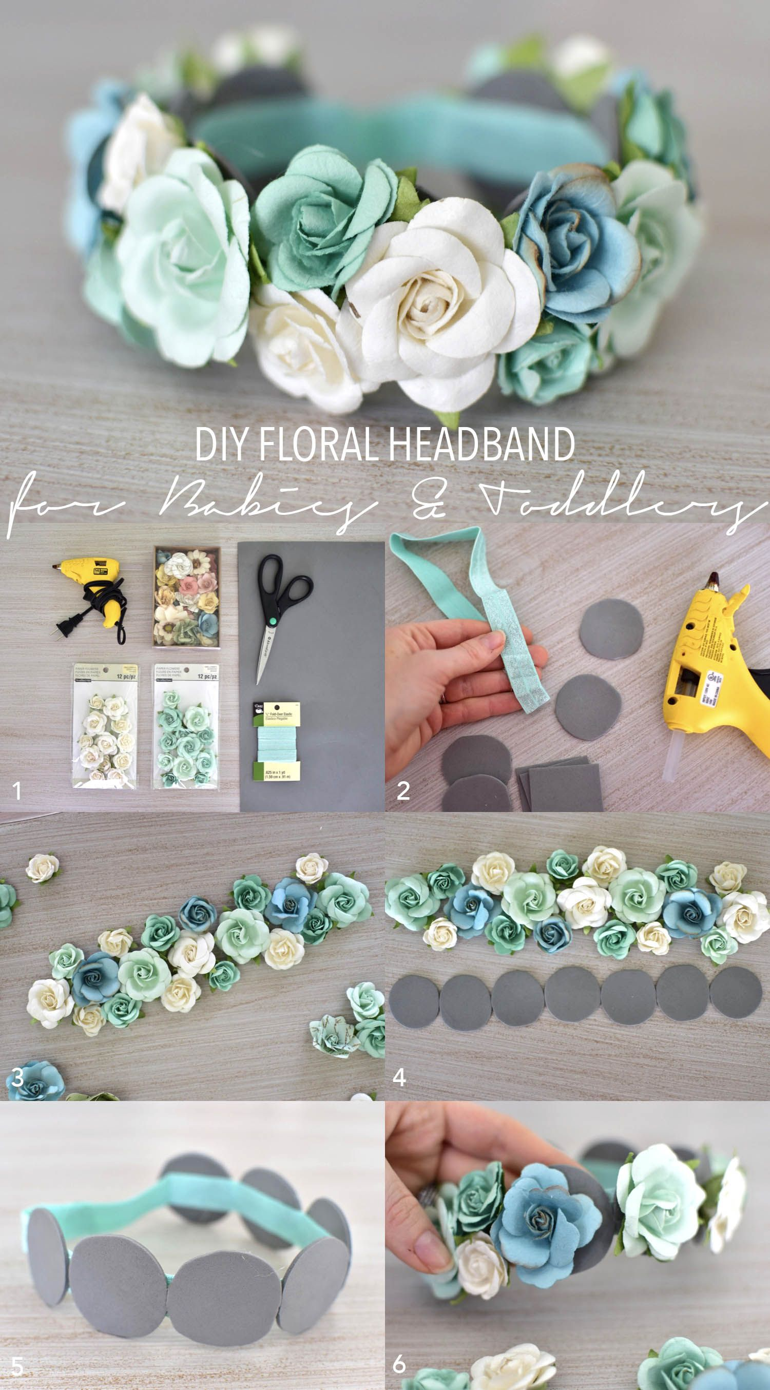 How to Make a Mix-and-Match Headband for Ribbon Flowers & More