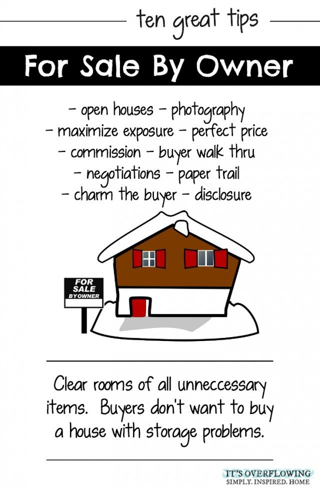 Tips For Selling Your Home By Owner Selling Home By Owner Sell Your House Fast Sell My House