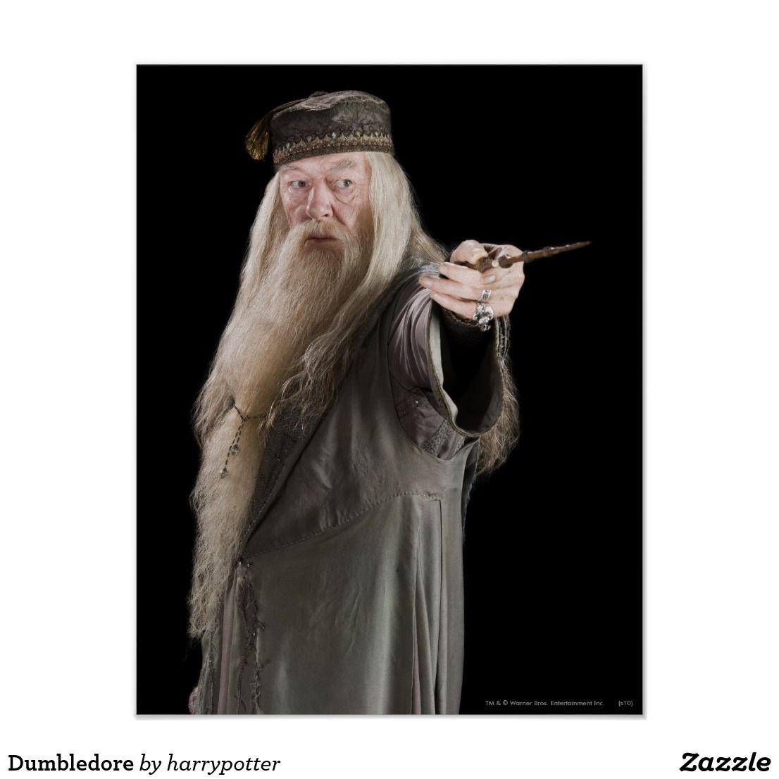 Dumbledore Poster Zazzle Com Harry Potter Dumbledore Albus Dumbledore Harry Potter Harry Potter Witch