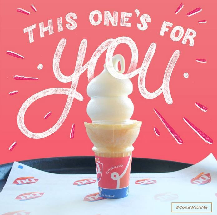 Free Cone Day At Dairy Queen March 16 My Birthday The Whole
