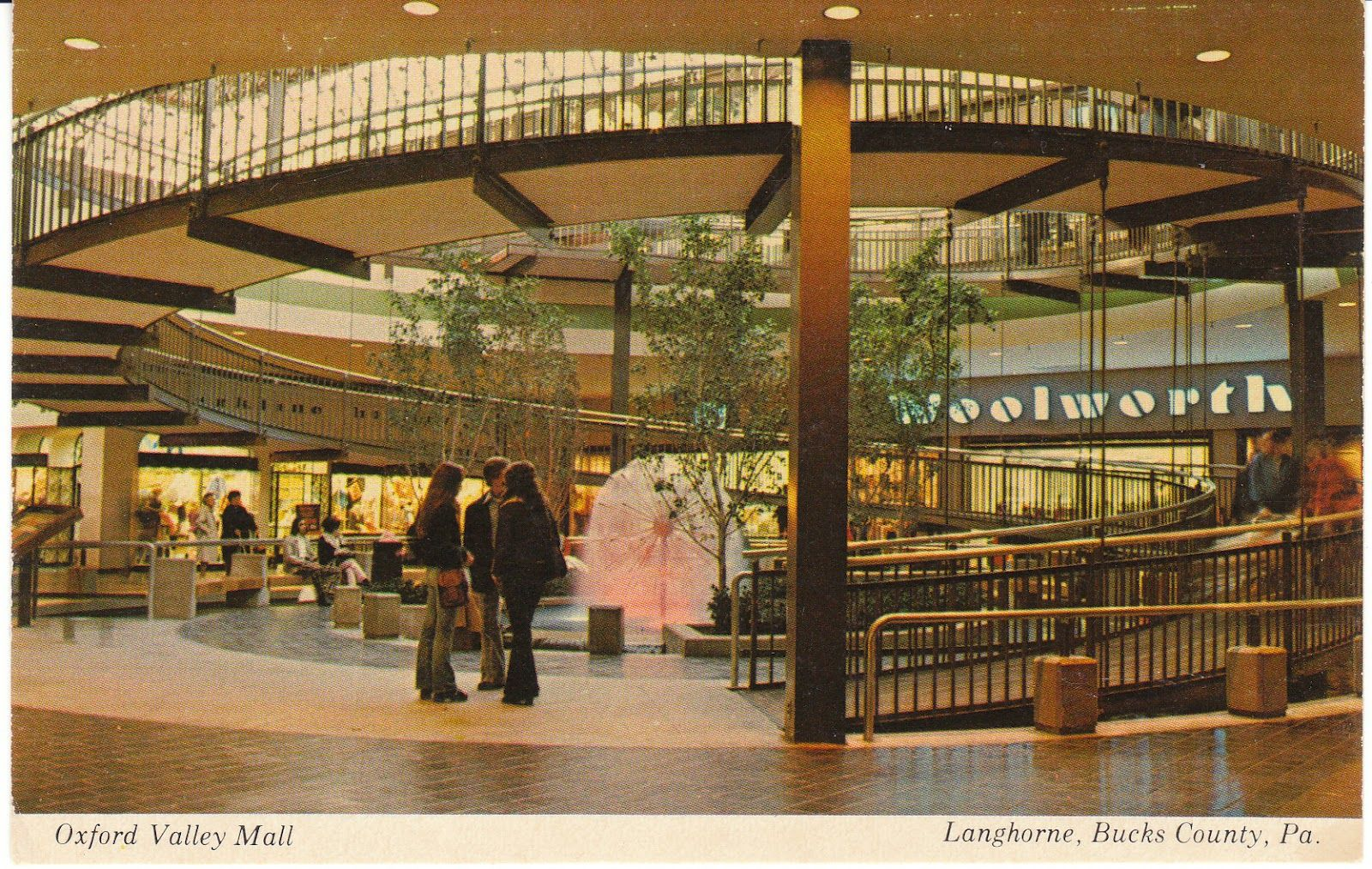 7ffb7e67d Just talked about this ramp tonight reminiscing with friends! Oxford Valley  Mall back in the day