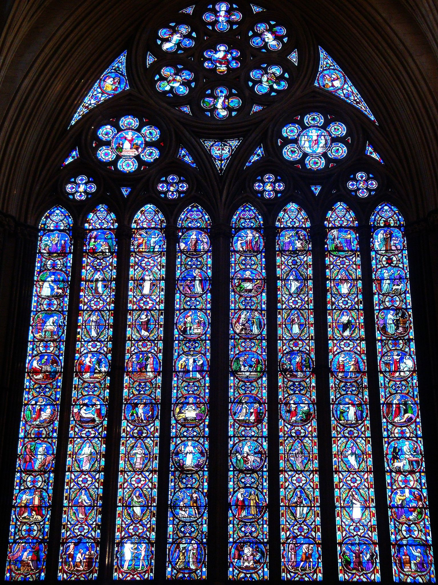 Lincoln Cathedral Stained Glass Window Stainedglasscathedral Catedral Gotica Vidrieras Catedral
