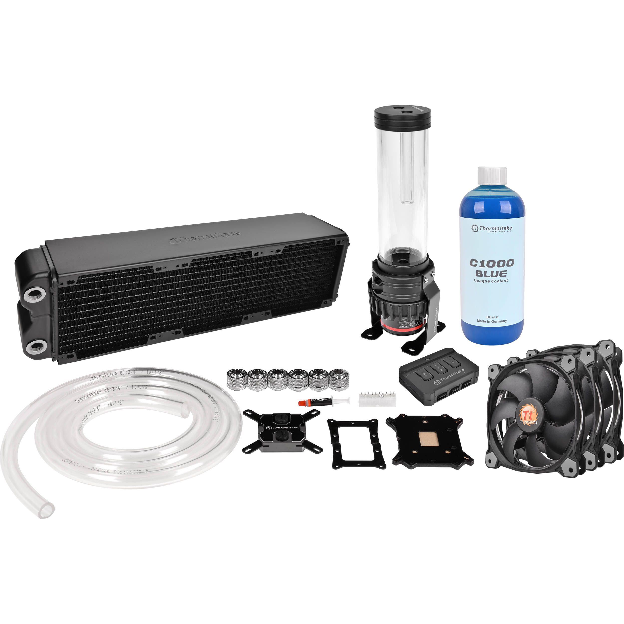Thermaltake Pacific Rl360 Pc Water Cooling Kit Water Cooling