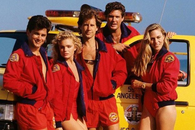 Baywatch The 80s Magazine Baywatch Baywatch Movie 90s Tv Shows