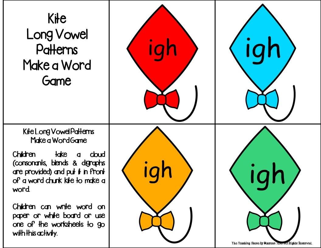 Long Vowel Patterns Centers Amp Activities Old Oll Ild