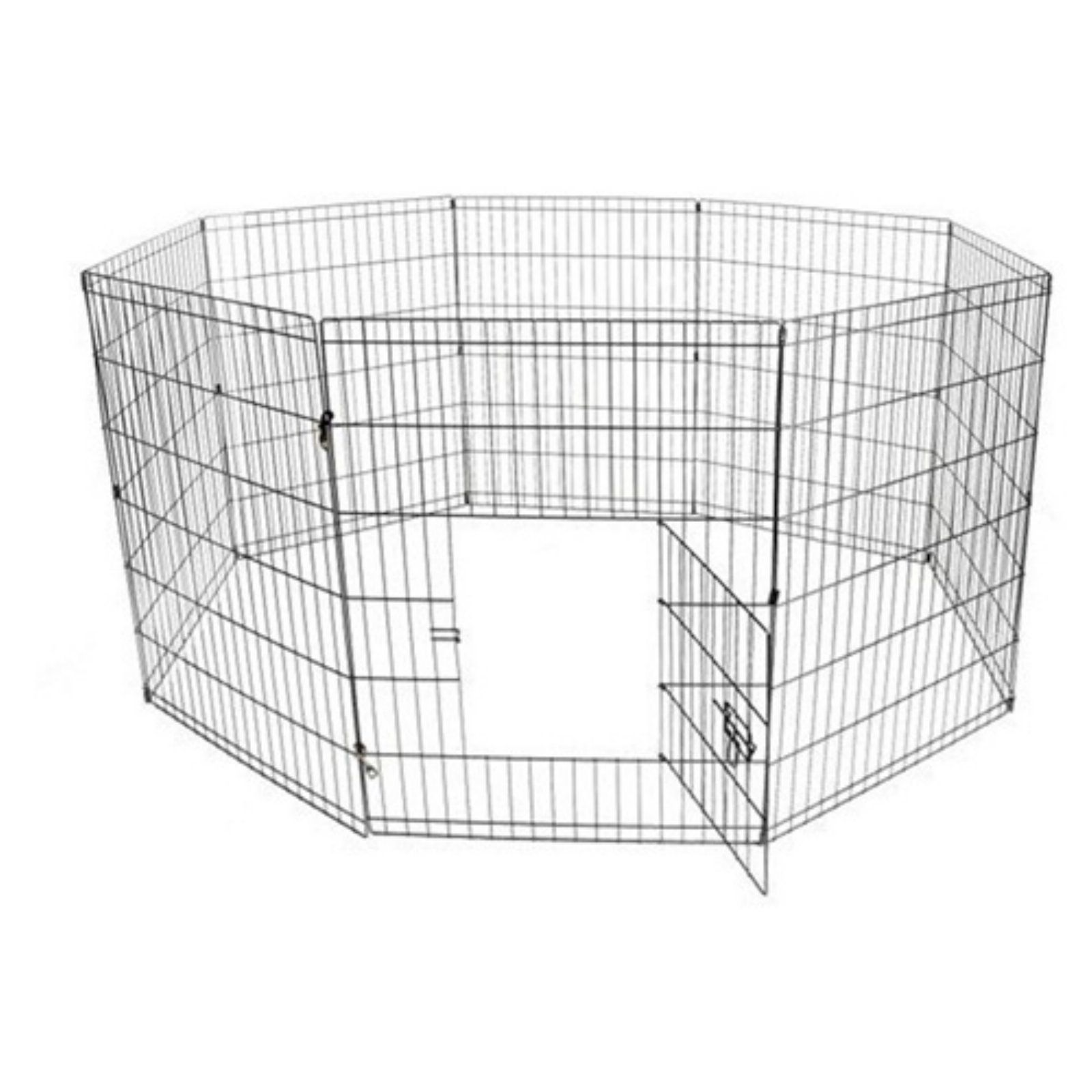 Cat Cage Gumtree Aleko Products 8 Panel Wire Pet Playpen Fence Black