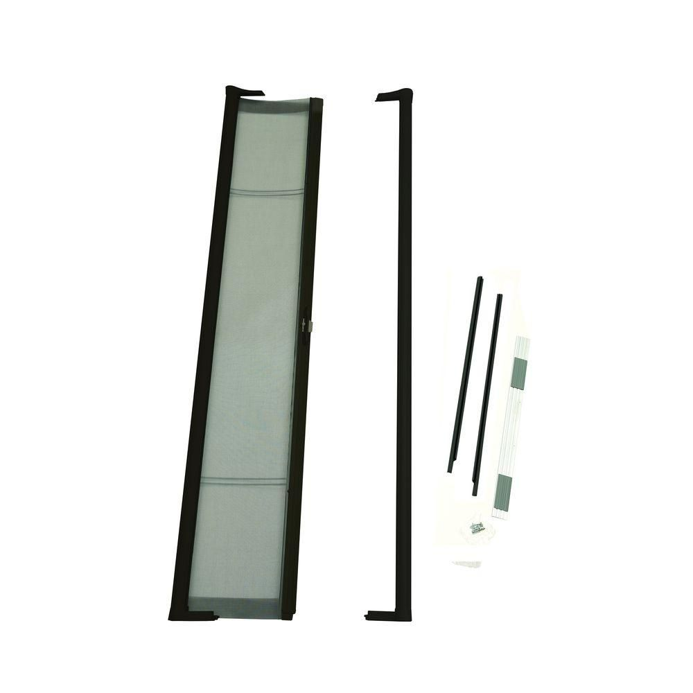 Brisa Bronze Short Height Retractable Screen Door