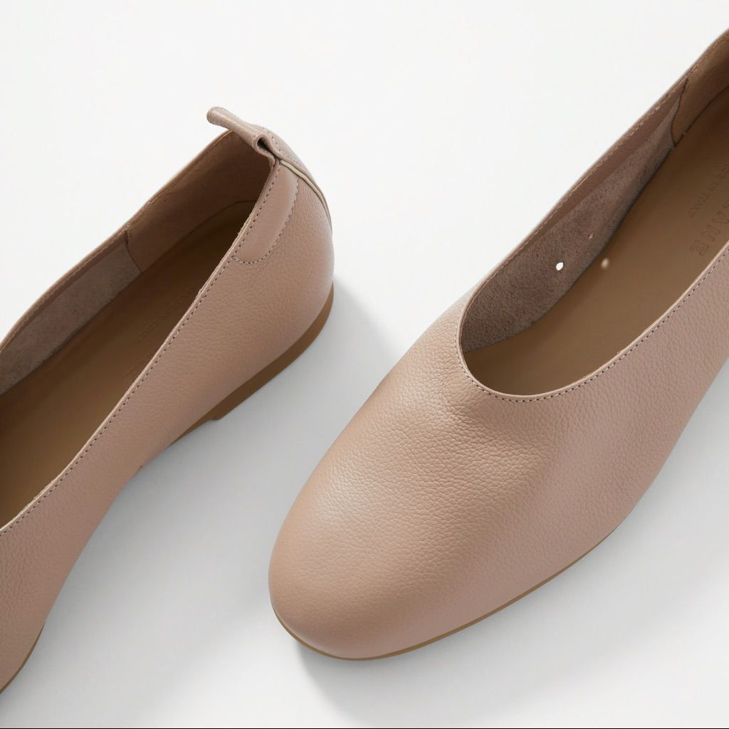 Essentials Ballerines Plates pour Femme Ballet Flat Femme