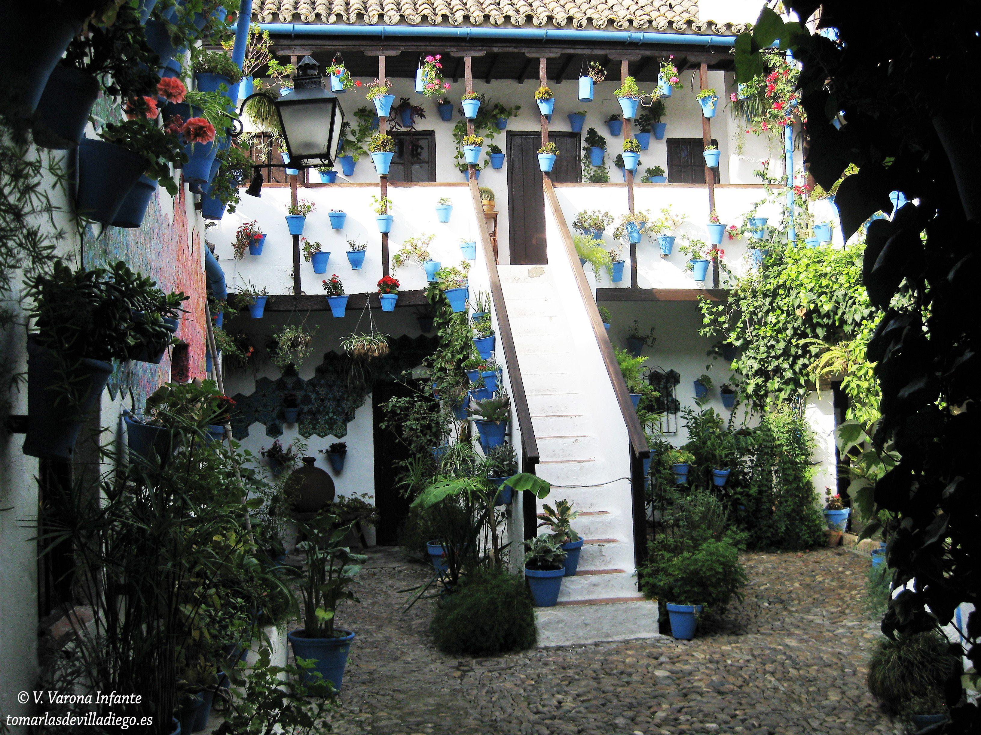 Patio Cordob S C Doba Andaluc A Espa A Lugares Que Visitar  # Muebles Astorga Vejer