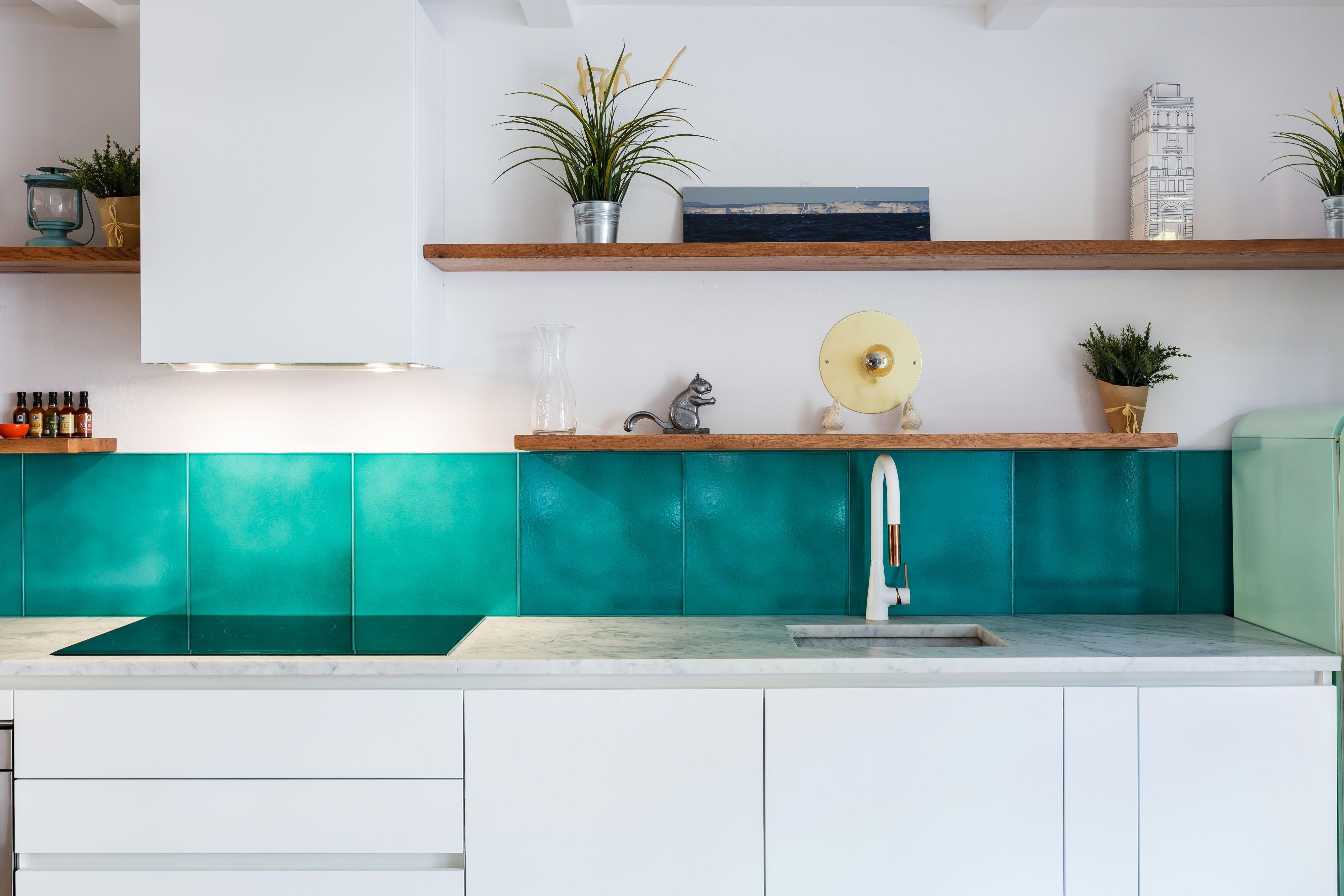 madeamano Work - Casa M - Kitchen: Backsplash tiles: Cristalli C/2 ...