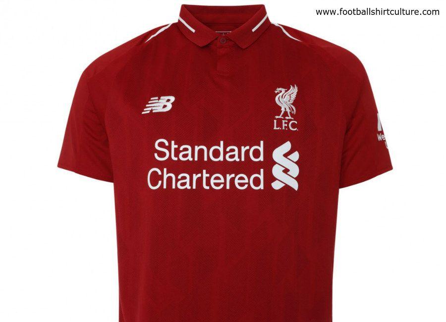 68e339904be #football #soccer #futbol #lfc #liverpool #liverpoolfc Liverpool 18/19 New  Balance Home kit