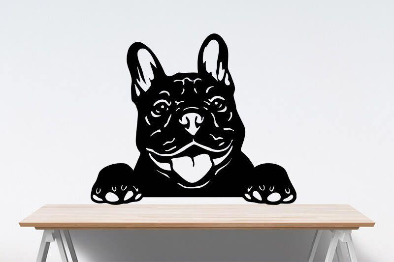 Cute French Bulldog Svg Peeking Frenchie Svg Funny Dog Etsy Cute French Bulldog Bulldog Digital Artwork