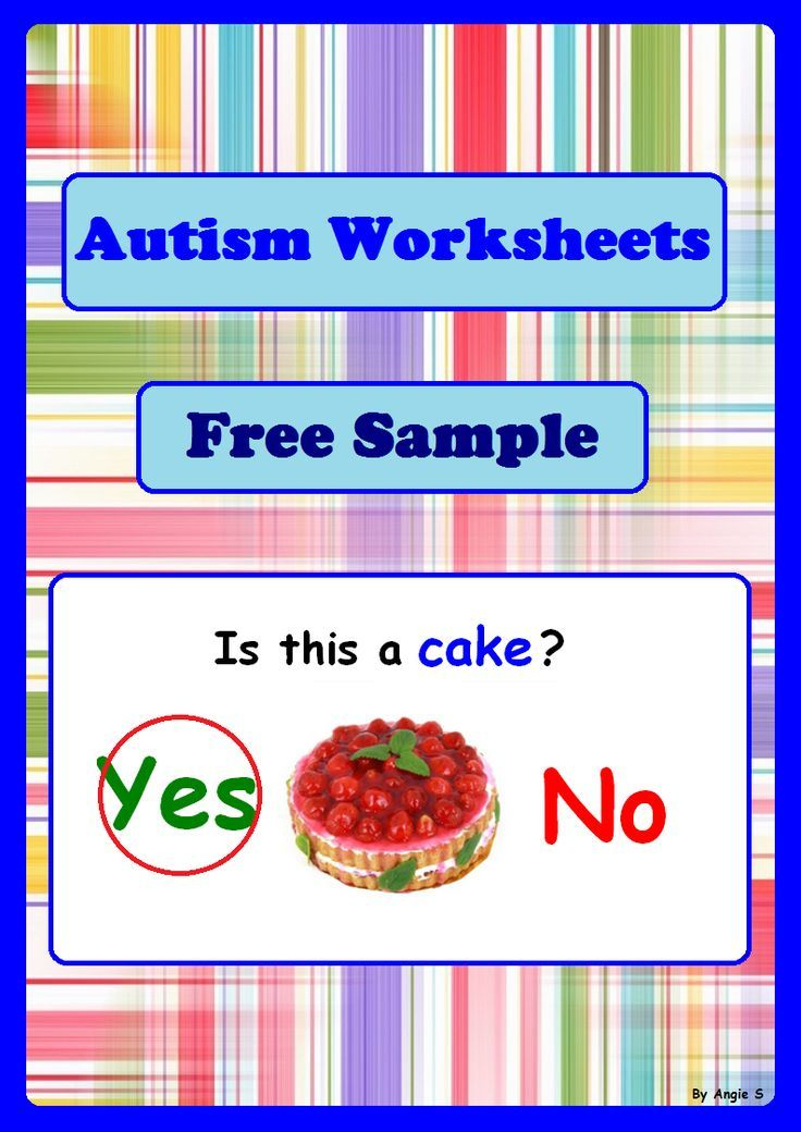 FREE Autism Worksheets Bundle Sample for Special Ed and Speech ...