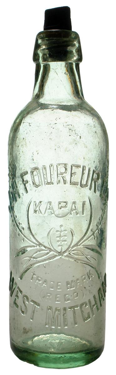 Foureur, West Mitcham. Kapai Plant trade mark. 26 oz