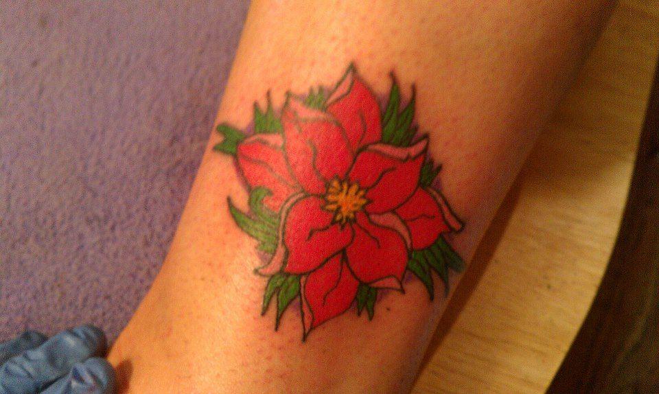Flower tattoo pinterest