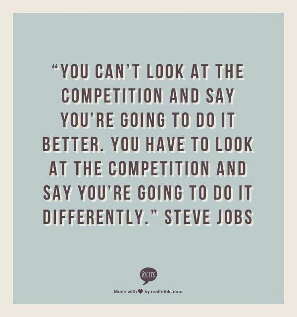Competition Quotes Magnificent Competition  Quotes  Pinterest  Steve Jobs Motivation And Wisdom