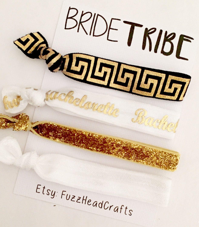 Bride tribe headands bridesmaid gift bachelorette gift