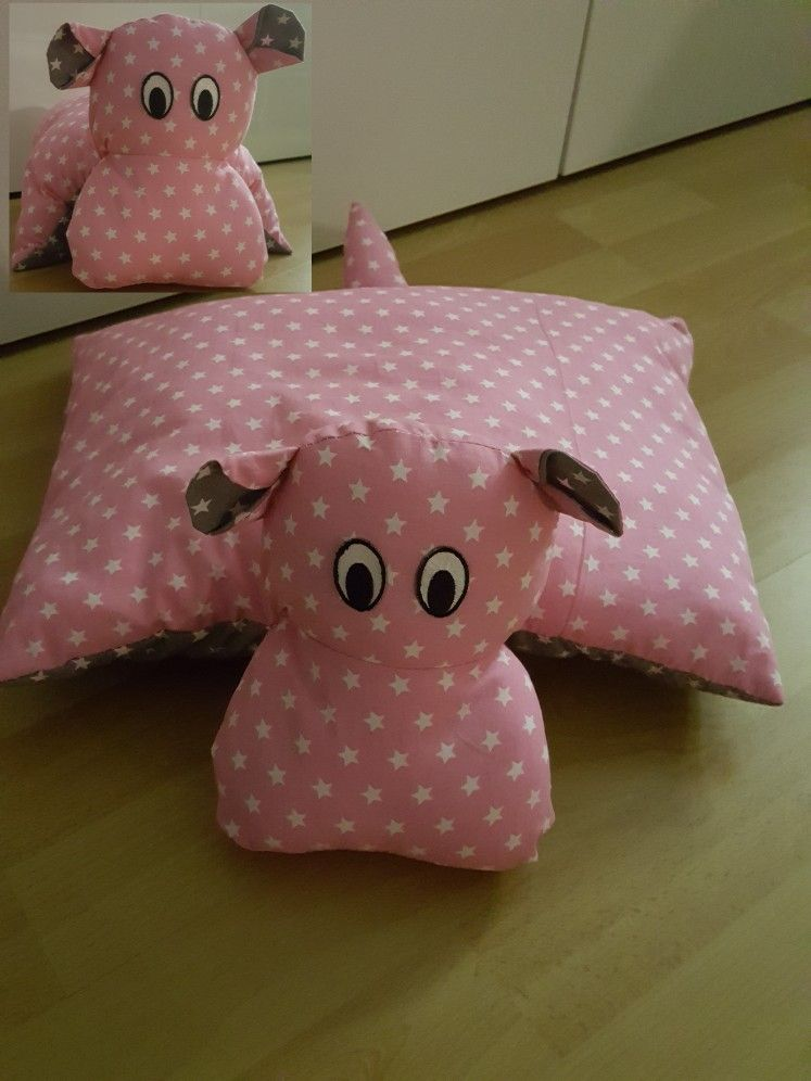 Hippo Kissen Kissen Nahen Kissen Basteln