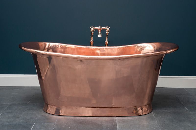 Copper bateau