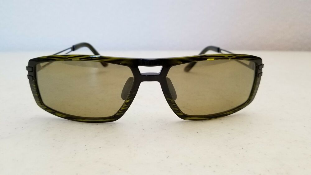 9cae671a4c7  65.95 Used Maui Jim Malihini MJ702-15C Sunglasses Olive Frame Green  Polarized Lenses  MauiJim  Square