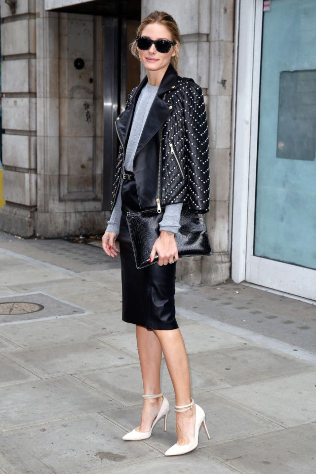 Olivia Palermo Has the London Look on Lock - HarpersBAZAAR.com