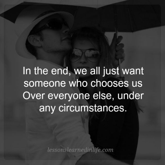 Lessons Learned in Life | Who chooses us.