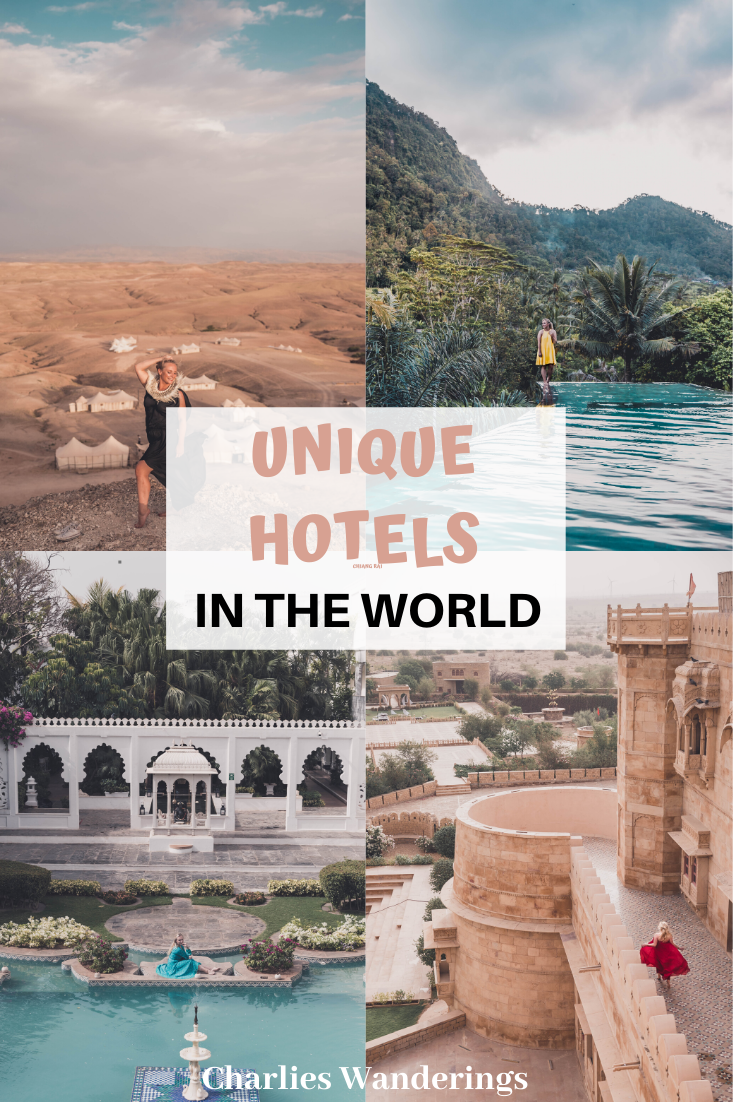 For this list I will only go over the most unique hotels in the world that I have already stayed at. Otherwise I wouldn't be able to give my honest opinion! the best hotels in the world, epic hotels in the world, best hotels for photography, instagrammable hotels, luxury hotels