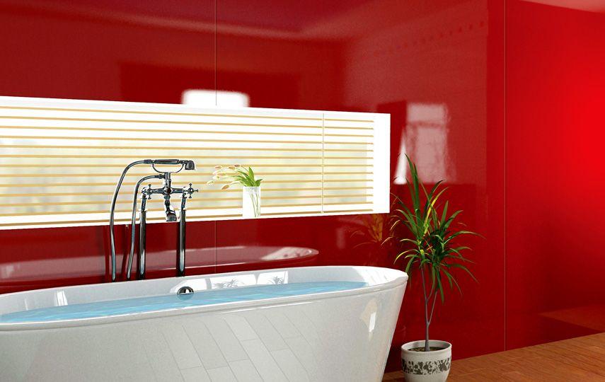 Vistelle Bathroom Acrylic Wall Panel Bathroom Wall Panels Acrylic Wall Panels Bathroom Red