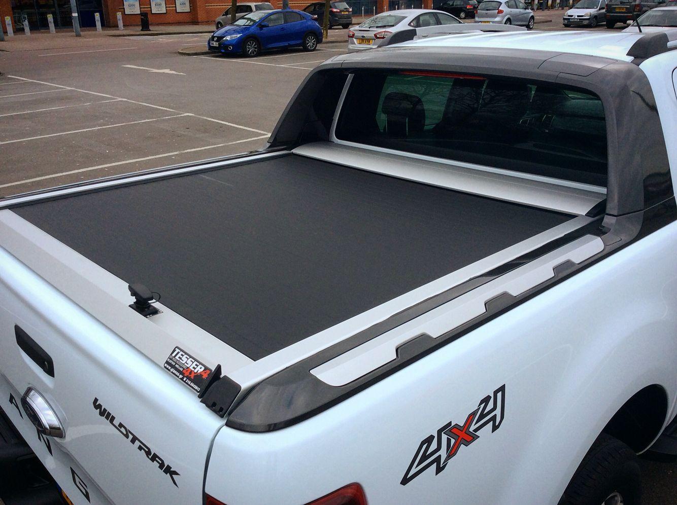 4x4accessories1 Aluminum Roller Lid Shutter New Ford Ranger