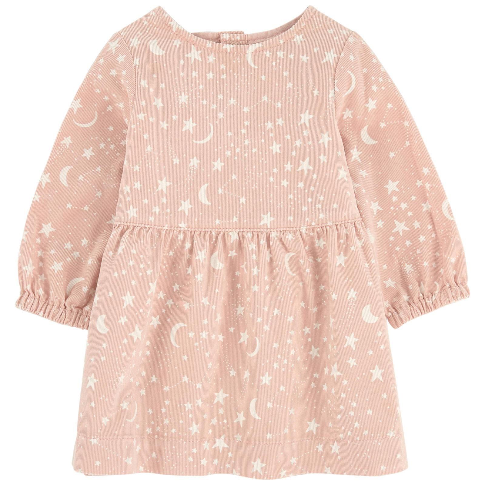 4997fb90491 Stella McCartney Kids Skippy Star And Moon Printed Corduroy Dress - Style  Number 471608 SJK51 - Stella McCartney