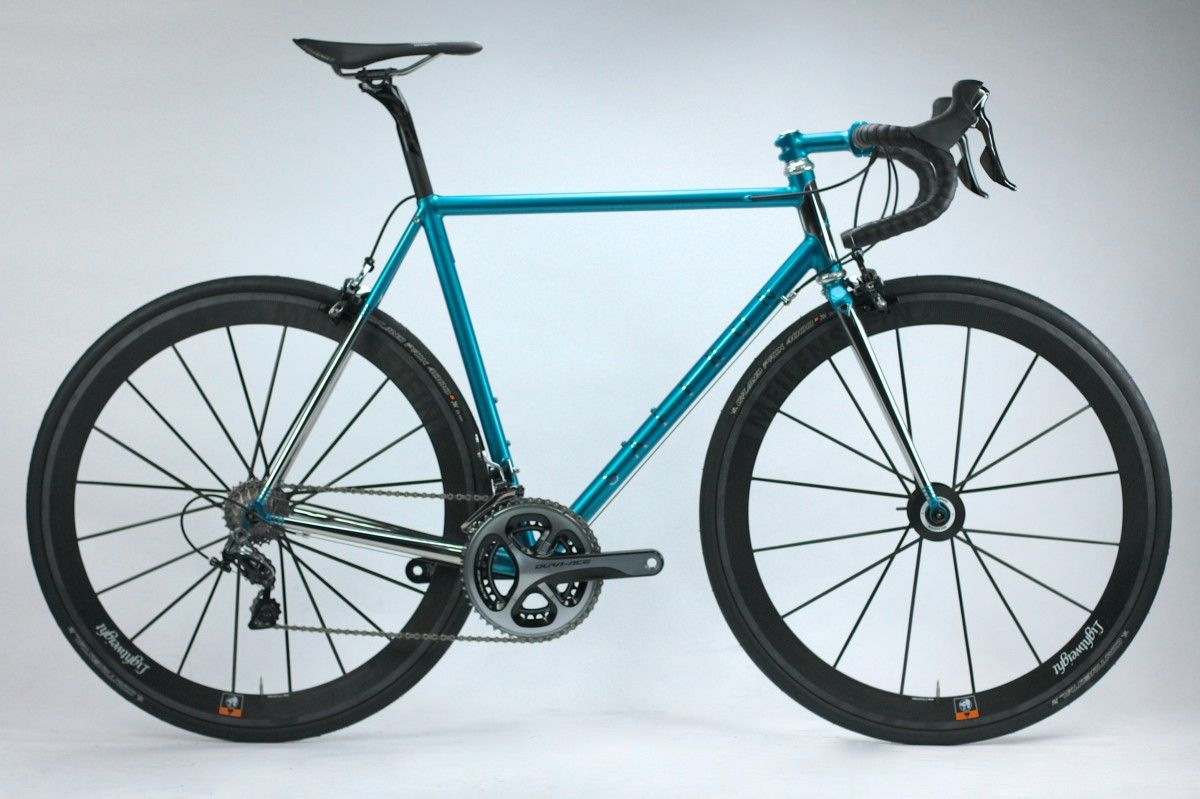 safron frameworks stainless steel cyclefits fully stainless steel road bike
