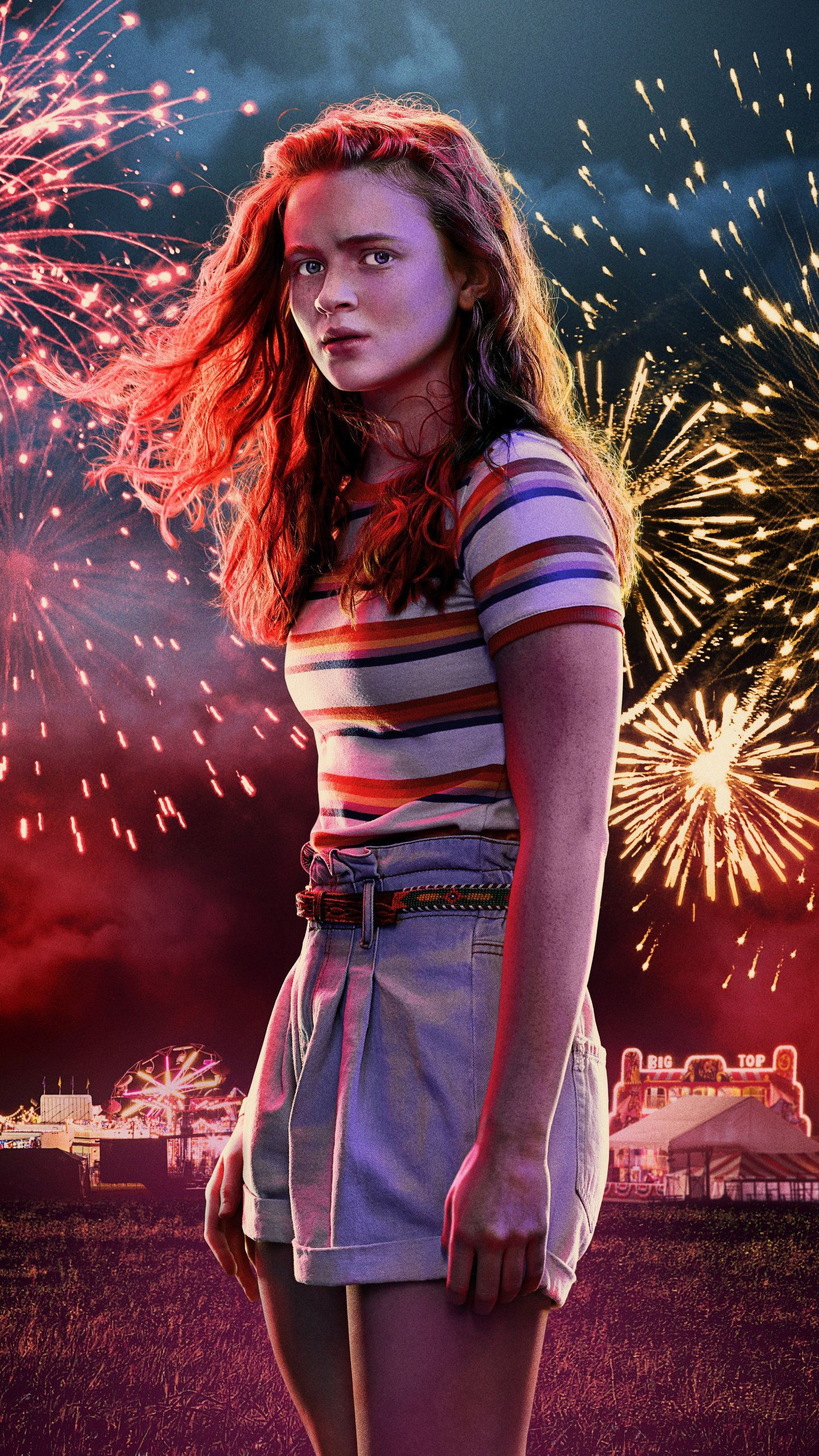 Max In Stranger Things Season 3 2019 5k Hd Tv Shows Wallpapers Photos And Pictures 111816003 Stranger Things Max Stranger Things Outfit Stranger Things Poster