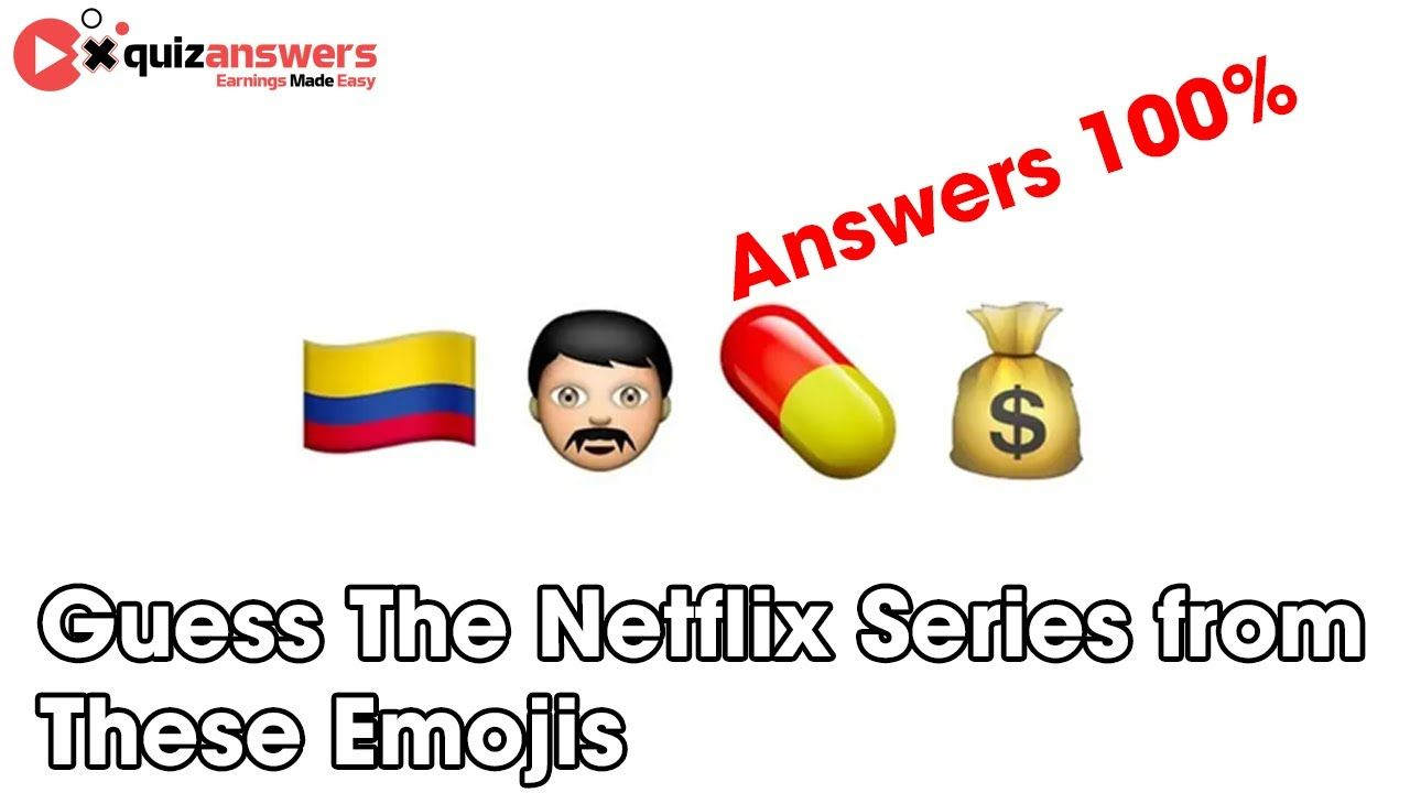 Guess The Netflix Series From These Emojis Quiz Answers 100 Quizanswe Netflix Series Emoji Quiz Netflix